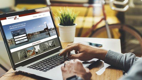 Web-Relaunch – Jetzt ist die passende Immobilie schnell gefunden.