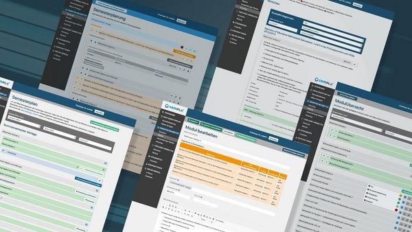Online-Planungstool – Semesterplanung leicht gemacht.