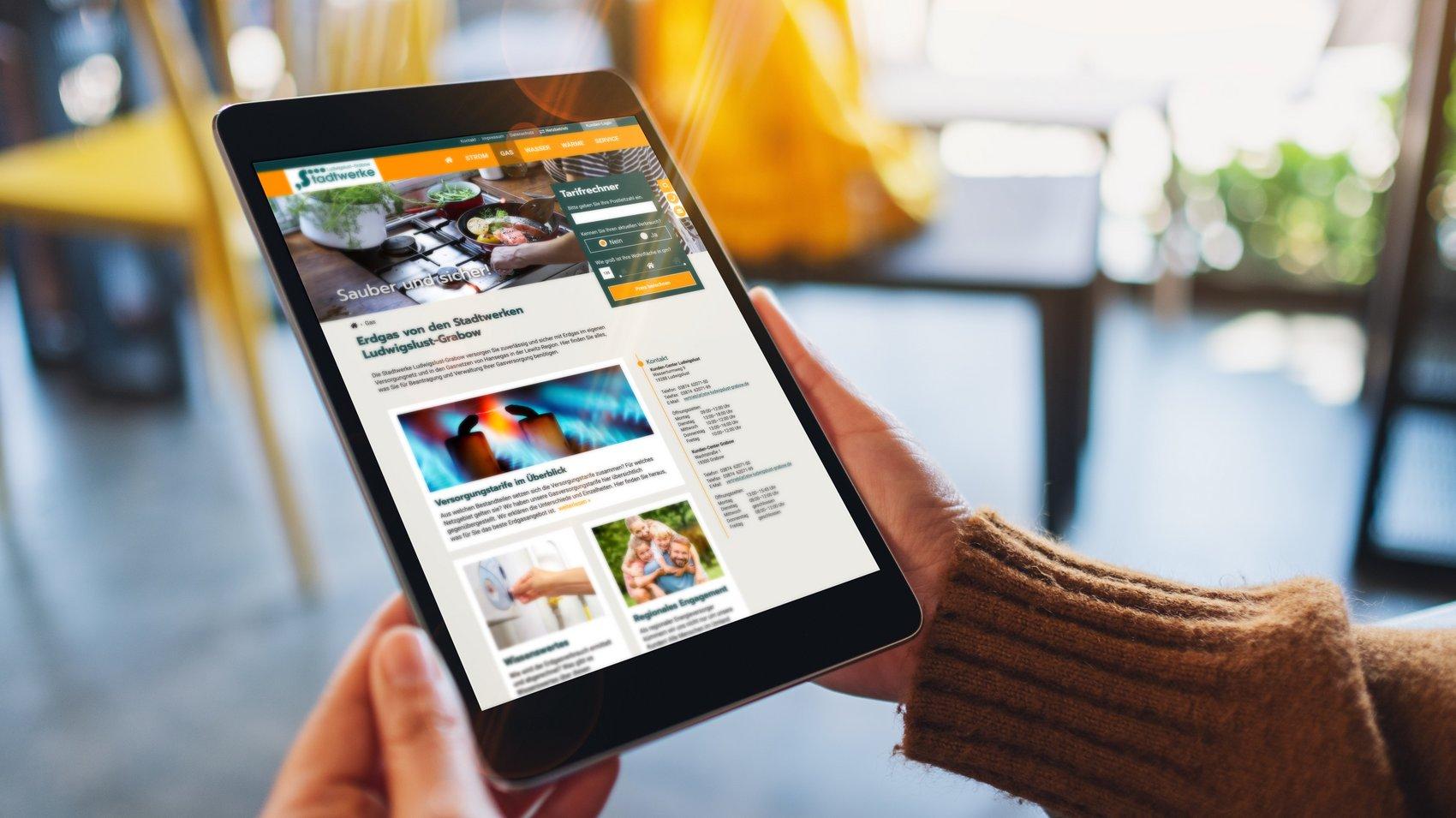 Website-Relaunch – Damit gehen dem Energieversorger jetzt noch mehr Kunden ins Netz.