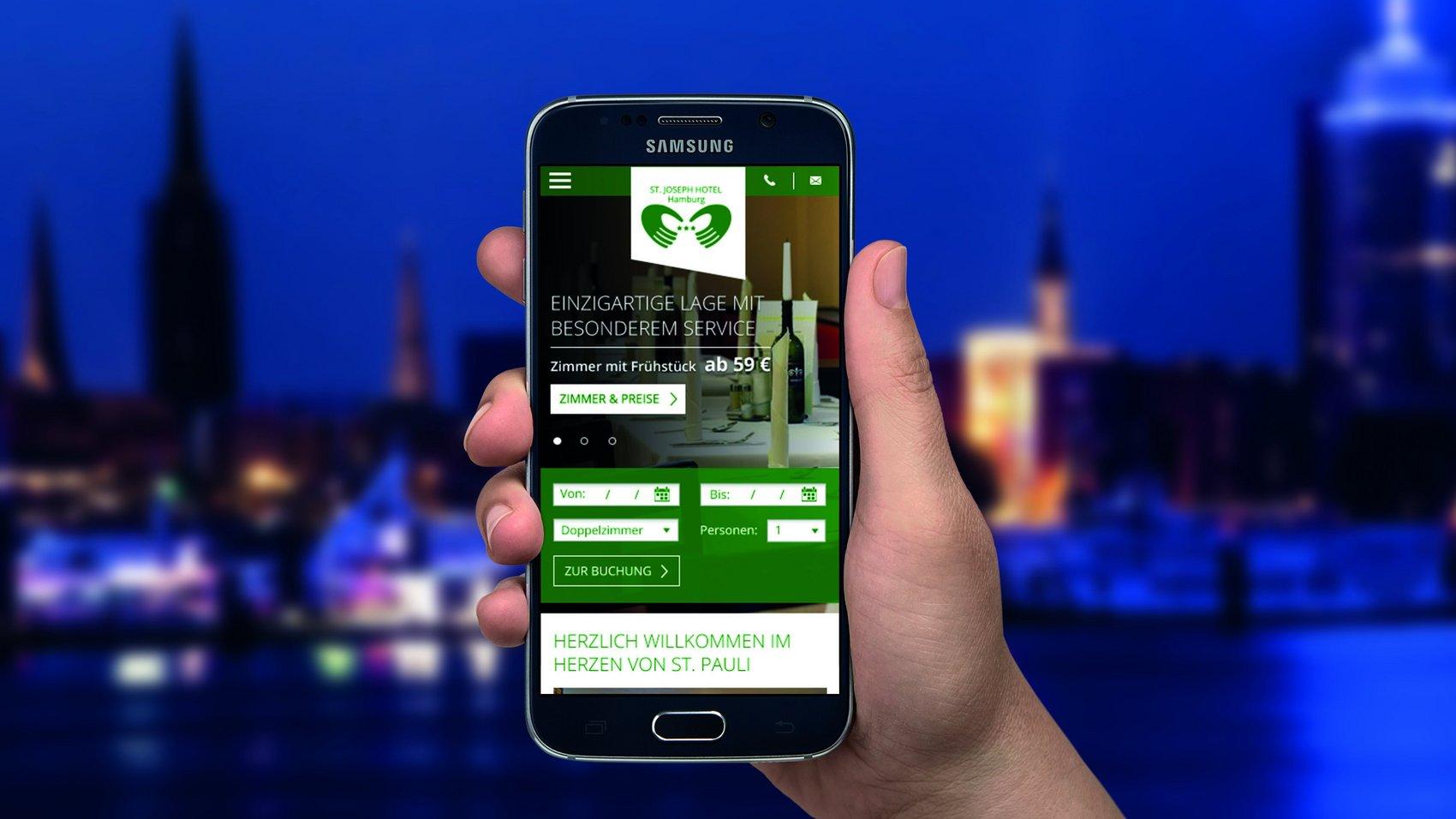 St. Joseph Hotel Web-Relaunch – Buchen ohne langes Suchen!