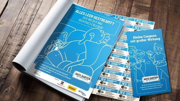 Gute Karten für Schwerin – Kleine Coupons mit großer Wirkung!